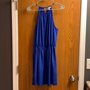 Royal blue American Eagle dress
